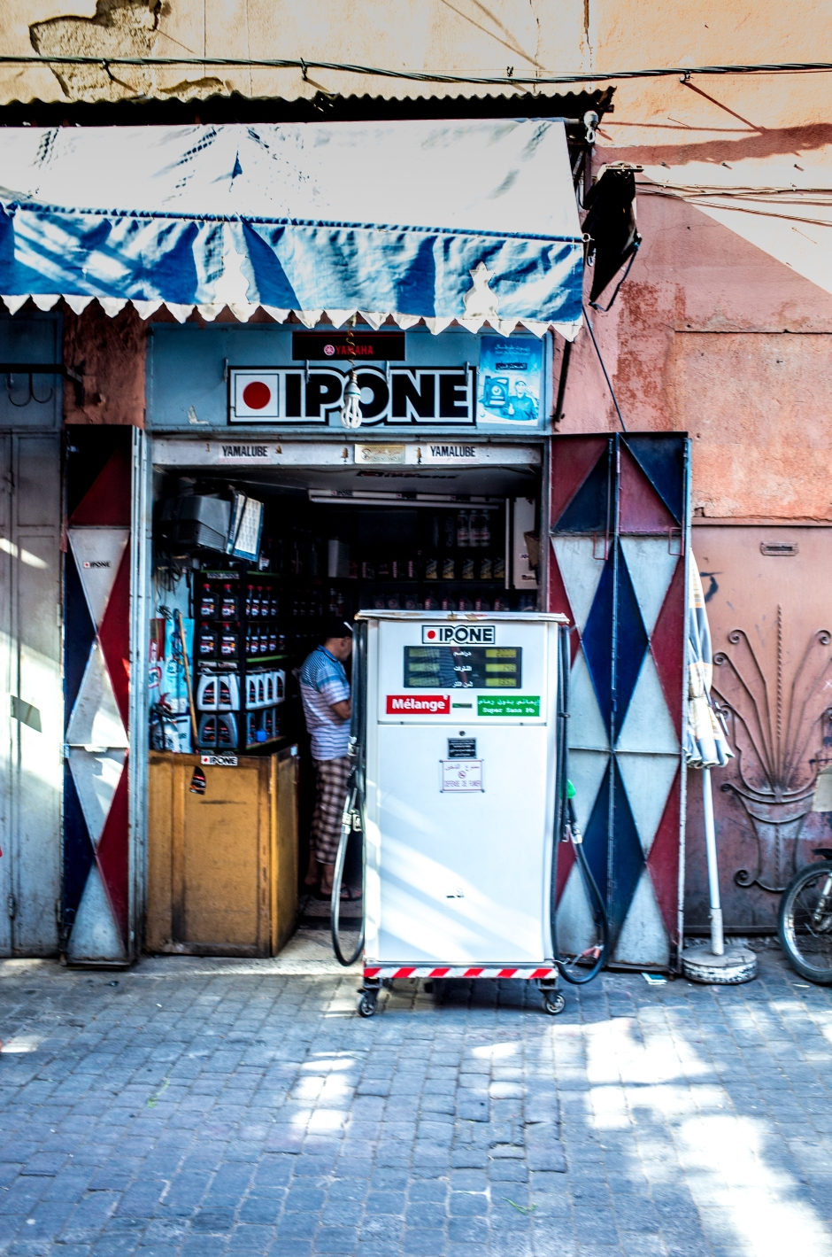 petrol station marrakech